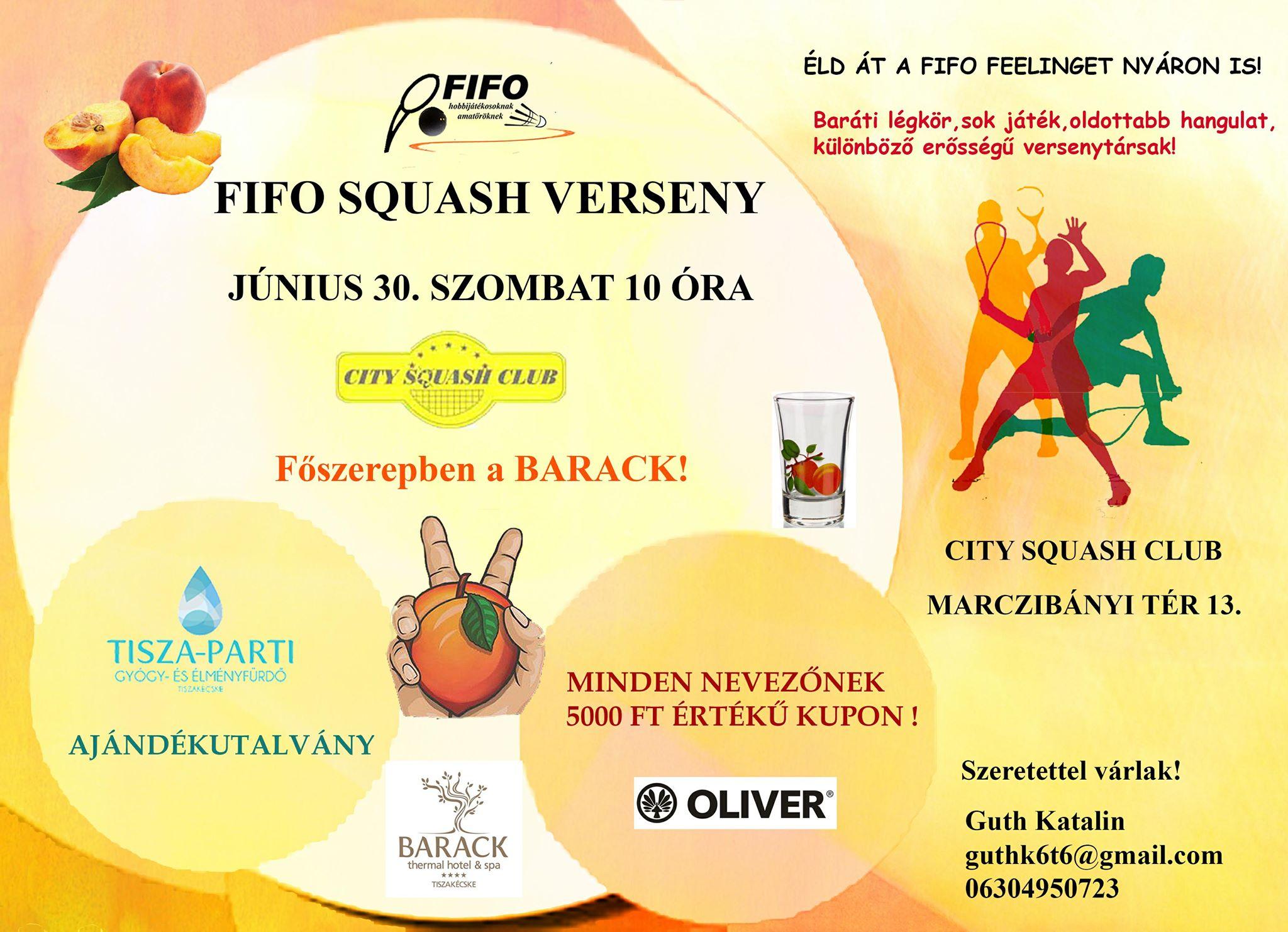 Fifó amatőr squash verseny abfab9136e